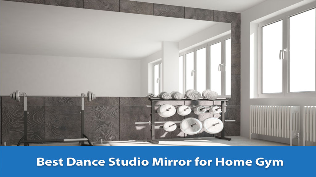 Dance Studio Mirror for Home Gym