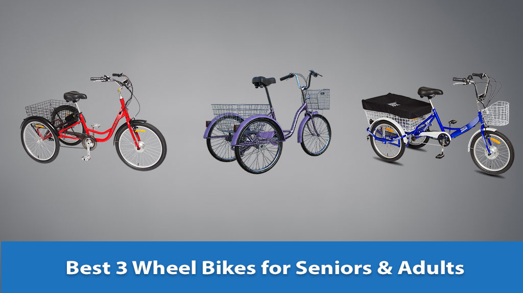 Best 3 Wheel Bikes for Seniors & Adults