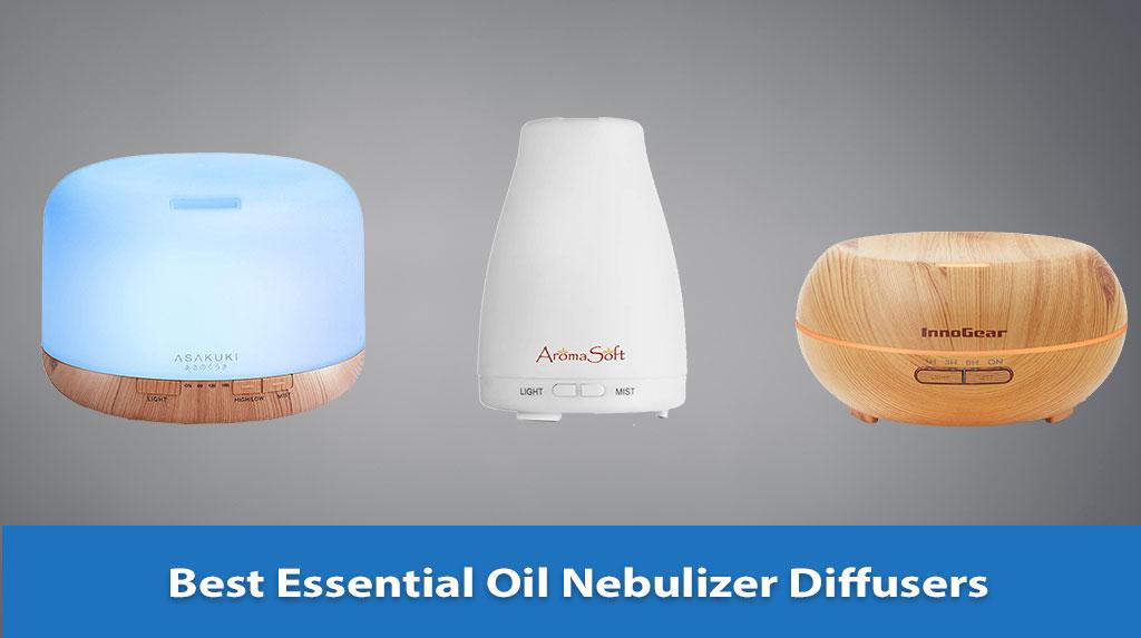 Best Essential Oil Nebulizer Diffuser