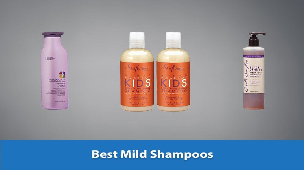 Best Mild Shampoos